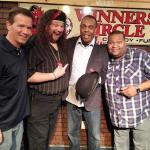 Hanging with Michael Winslow after a great show!